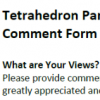 Tetrahedron Online Comments Part 1